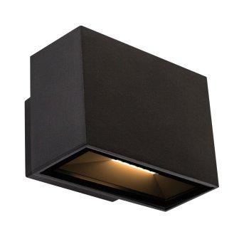 Applique murale KS Verlichting Segment LED Noir, 2 lumières