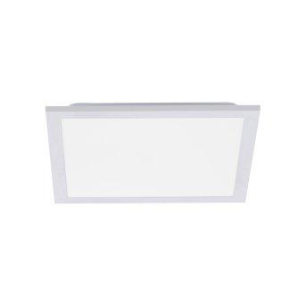 Plafonnier Leuchten Direkt FLEET LED Blanc, 1 lumière, Détecteur de mouvement
