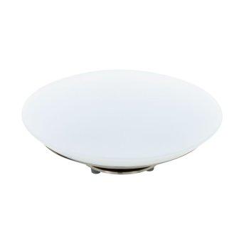 Lampe à poser Eglo CONNECT FRATTINA-C LED Nickel mat, 1 lumière, Changeur de couleurs
