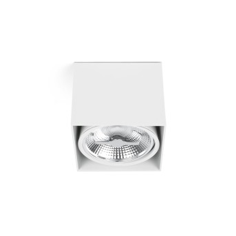 Plafonnier Faro Tecto Blanc, 1 lumière