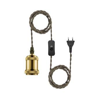 Kit câble Leuchten Direkt HOLD IT Laiton, 1 lumière