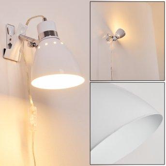 Lampe à pince Stranderott Blanc, 1 lumière