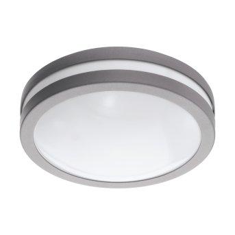 Plafonnier Eglo Connect LOCANA LED Argenté, 1 lumière