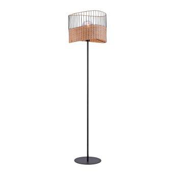 Lampadaire Leuchten-Direkt REED Noir, 1 lumière