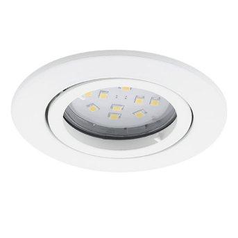 Lampe à encastrer Eglo TEDO Blanc, 1 lumière