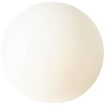 Boule lumineuse Brilliant Garden Blanc, 1 lumière