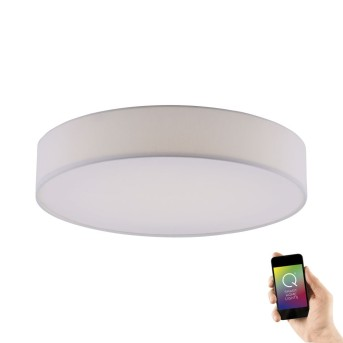 Plafonnier Paul Neuhaus Q-KIARA LED Blanc, 1 lumière, Télécommandes