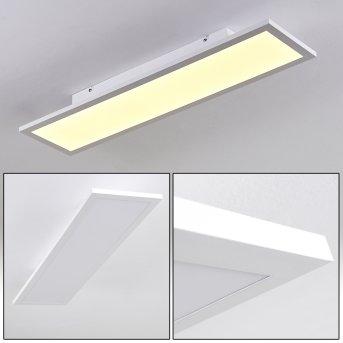Plafonnier Salmi LED Blanc, 1 lumière