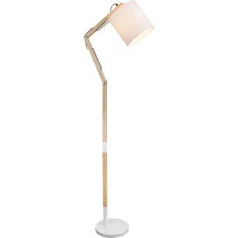 Lampadaire Globo MATTIS Blanc, 1 lumière