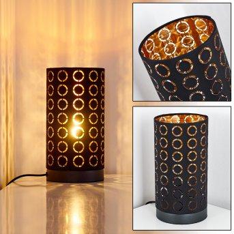 Lampe à poser Sonderborg Noir, 1 lumière
