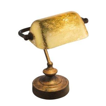 Lampe à poser Globo TL Rouille, 1 lumière