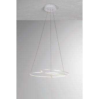 Suspension BOPP AT LED Blanc, 1 lumière