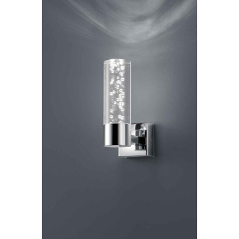 Applique Trio 2824 LED Chrome, 1 lumière