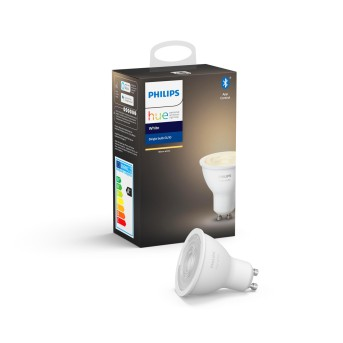 LED White GU10 5,2 Watt 2700 Kelvin 400 Lumen Philips Hue
