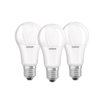 Lot de 3 Osram LED E27 13 Watt 2700 Kelvin 1521 Lumen