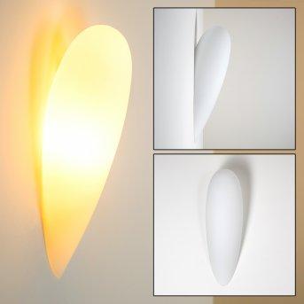 Applique murale Kubbe Blanc, 1 lumière