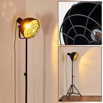 Lampadaire Jonsered Noir, 1 lumière