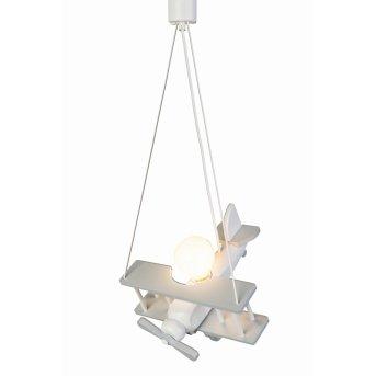 Suspension Waldi Flugzeug Gris, Blanc, 1 lumière
