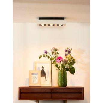 Spot de plafond Lucide XIRAX LED Blanc, 3 lumières