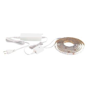 Bande LED Eglo CONNECT STRIPE-C Blanc, 1 lumière, Changeur de couleurs