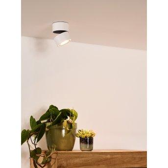 Plafonnier Lucide YUMIKO LED Blanc, 1 lumière