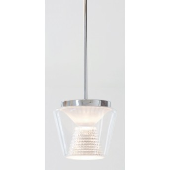 Suspension Serien Lighting ANNEX LED Aluminium, Transparent, 1 lumière