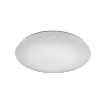Plafonnier Trio Leuchten WiZ NALIDA LED Blanc, 1 lumière, Télécommandes, Changeur de couleurs
