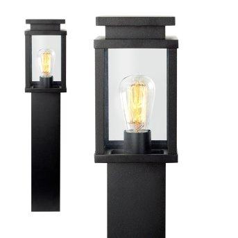 Borne lumineuse KS Verlichting Jersey Noir, 1 lumière