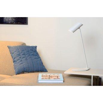 Lampes de table Lucide HESTER Blanc, 1 lumière