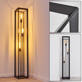 Lampadaire Traryd Noir, 3 lumières