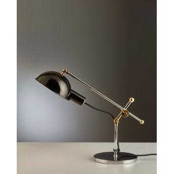 SF 27 Tecnolumen Lampes de table Chrome, Laiton, 1 lumière