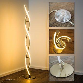 Lampadaire Paul Neuhaus POLINA LED Acier inoxydable, 2 lumières