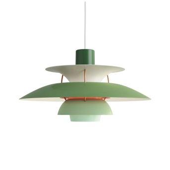 Suspension Louis Poulsen Vert, 1 lumière