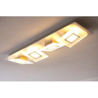 Plafonnier LED Bopp FRAME Aluminium, 4 lumières