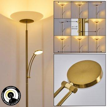 Lampadaire Argostoli LED Laiton, 2 lumières
