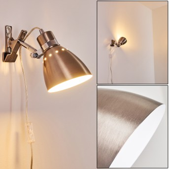 Lampe à pince Stranderott Acier inoxydable, 1 lumière