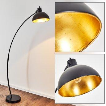 Lampadaire Parola Noir, 1 lumière