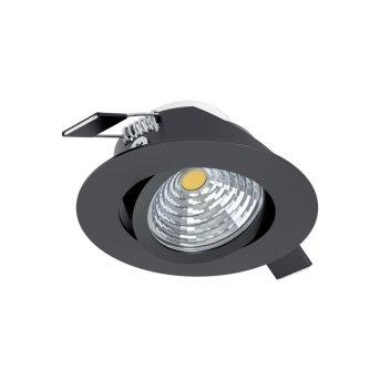 Spot encastrable Eglo SALICETO LED Noir, 1 lumière