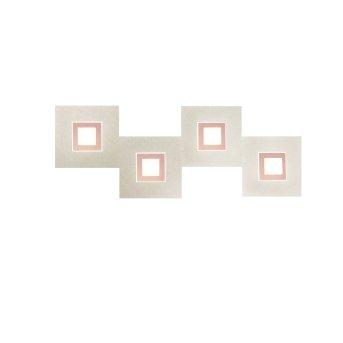 Applique murale Grossmann Karree LED Cuivre, 4 lumières