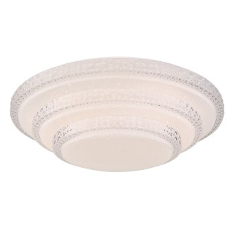 Plafonnier Globo RITA LED Blanc, 1 lumière, Télécommandes