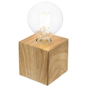 Lampe à poser Nino Leuchten LEONIE Bois clair, 1 lumière