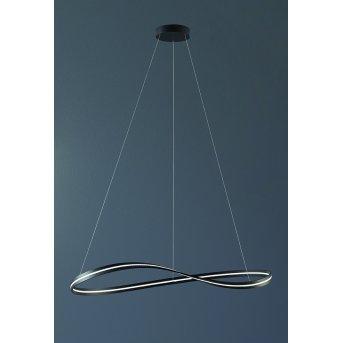 Suspension Escale INFINITY LED Transparent, 1 lumière