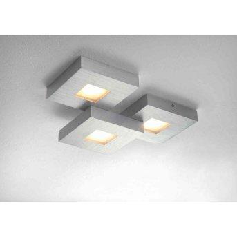Plafonnier Bopp CUBUS LED Aluminium, 3 lumières