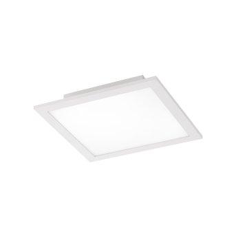 Plafonnier Leuchten Direkt Ls-FLAT LED Blanc, 1 lumière, Télécommandes, Changeur de couleurs