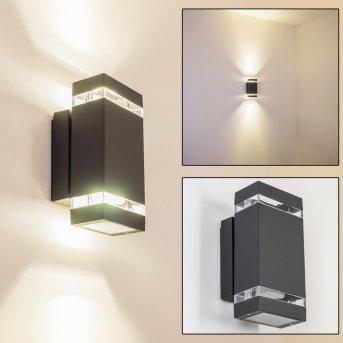 Applique extérieure Lutak LED Anthracite, 2 lumières