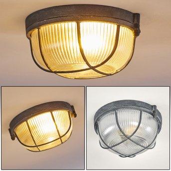 Plafonnier Hanalei Gris, 1 lumière