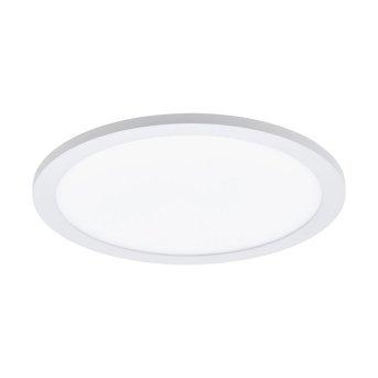 Plafonnier Eglo CONNECT SARSINA-C LED Blanc, 1 lumière, Télécommandes, Changeur de couleurs