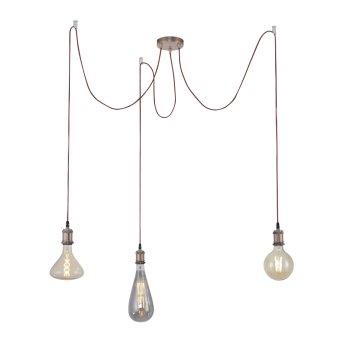 Suspension Leuchten Direkt DIY Cuivre, 3 lumières