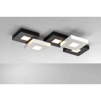 Plafonnier Bopp CUBUS LED Noir, Blanc, 5 lumières