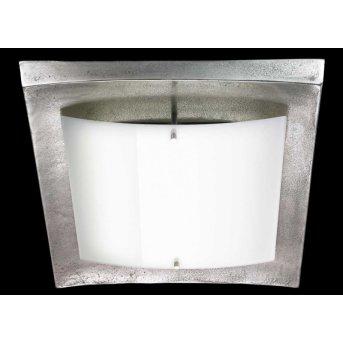 Plafonnier Fischer Shine Alu LED Nickel mat, 1 lumière